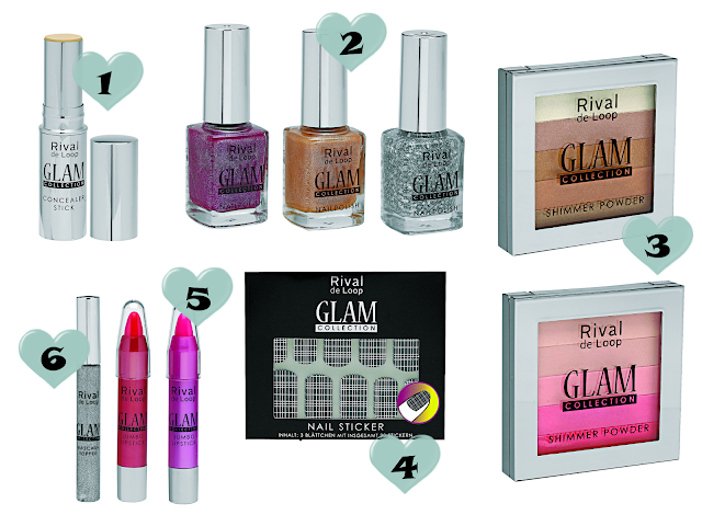 Preview - Rival de Loop Glam Collection - limitierte Kollektion (LE) - Dezember 2013