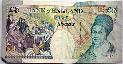 &#163;5 note banknote