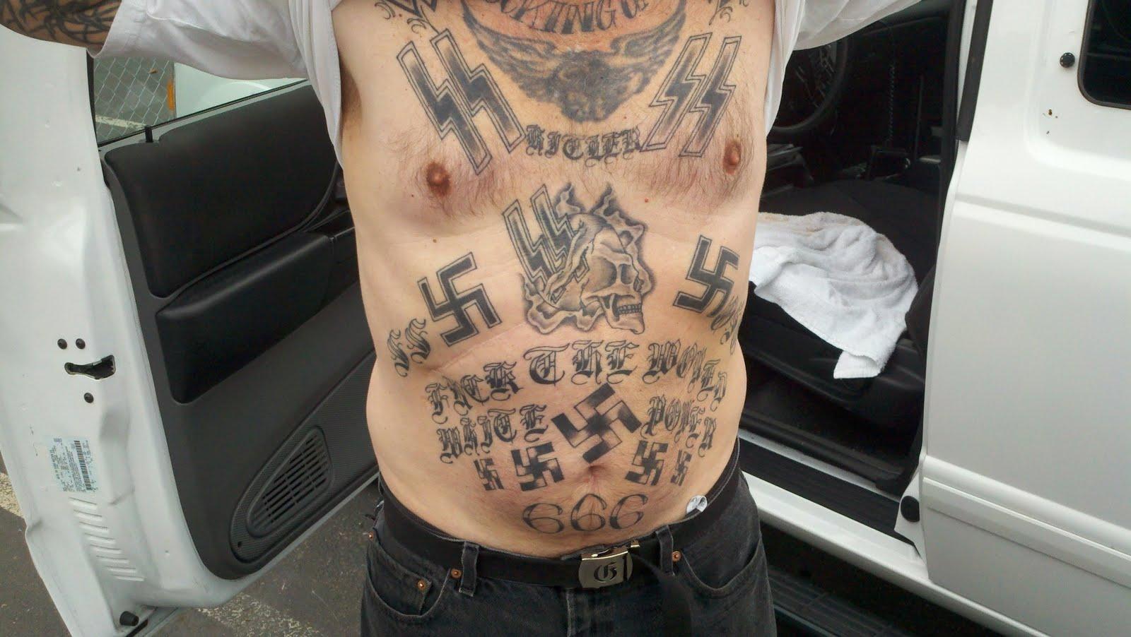 hard tattooed