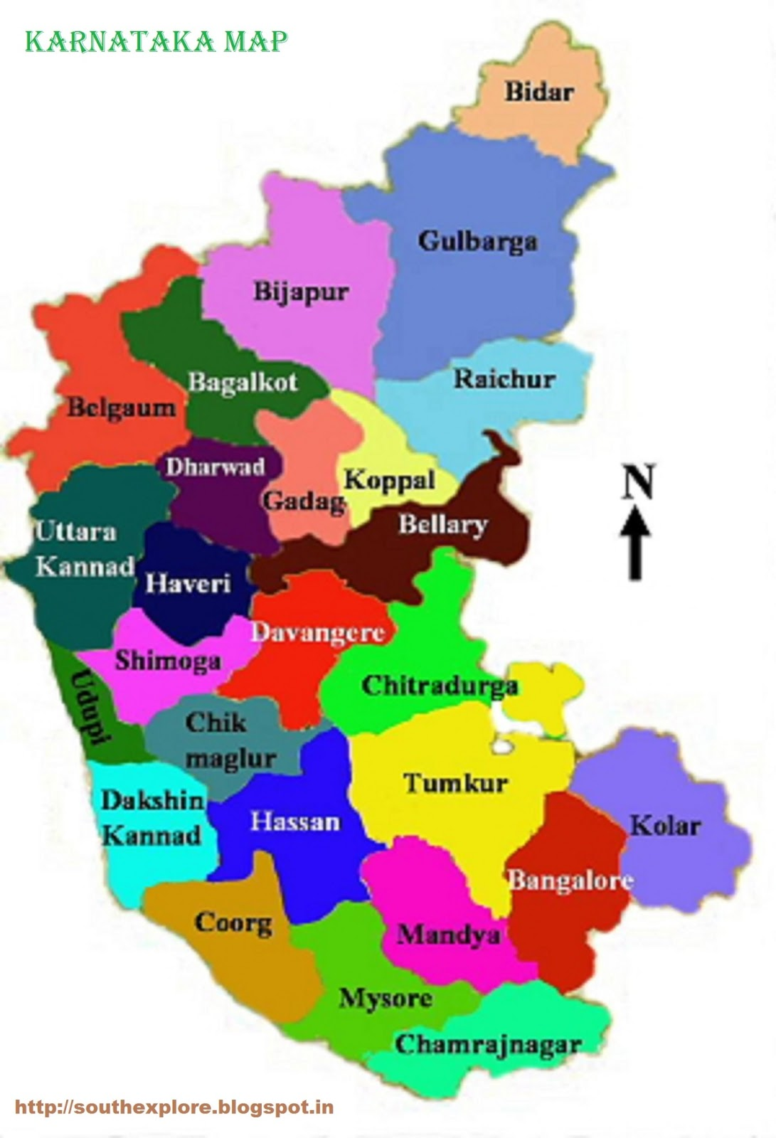 maps  south india tourism - maps · karnataka tourism