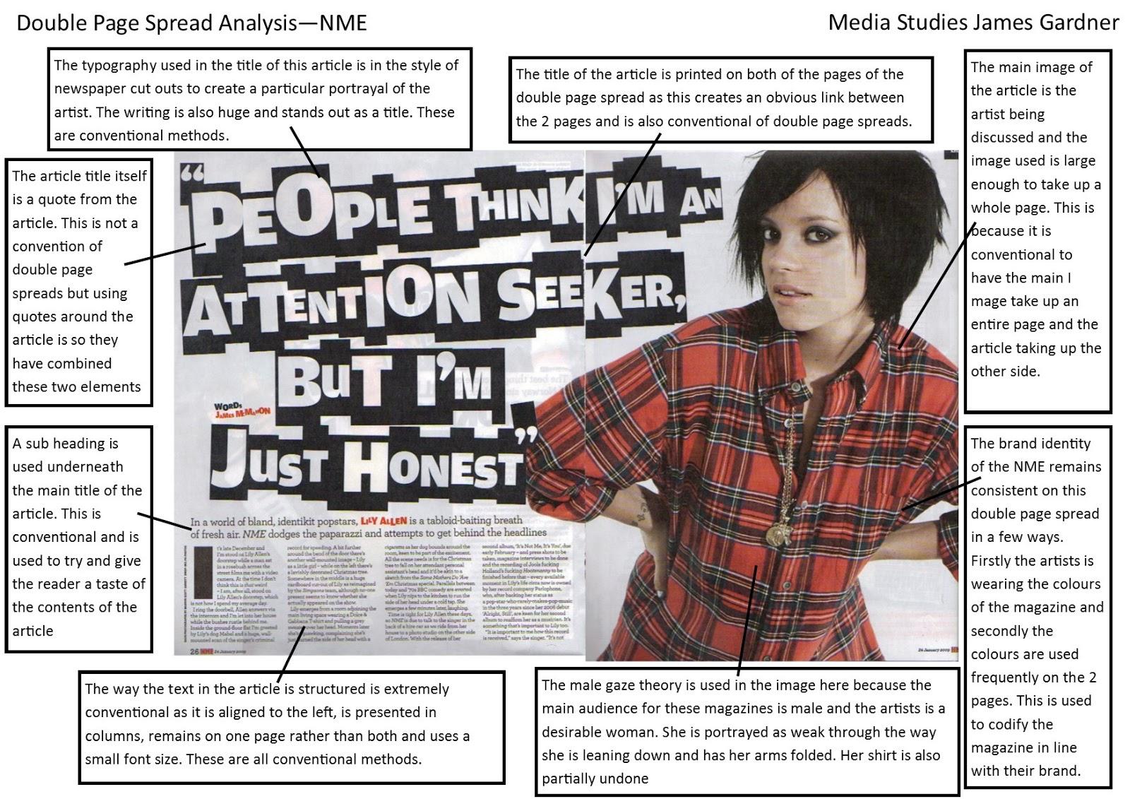 media coursework music video