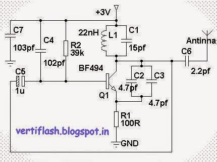 Easy For Any Jammer Circuit Remember That There Are Three Main Important Circuits When They Combined Together The Output Of Will