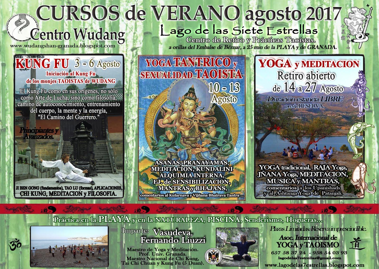 Cursos de Verano 2017: agosto.