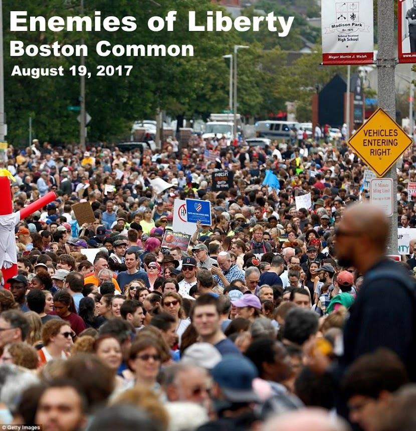 Enemies of Liberty are ruthless.  To own your Liberty, you'd better come harder than your enemies..