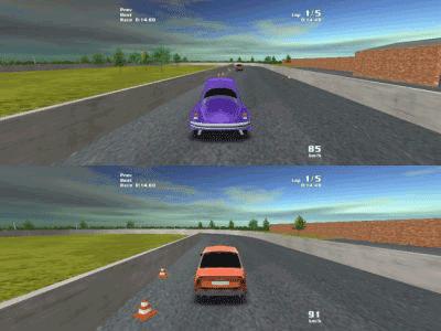 MultiRace jogos carros antigos