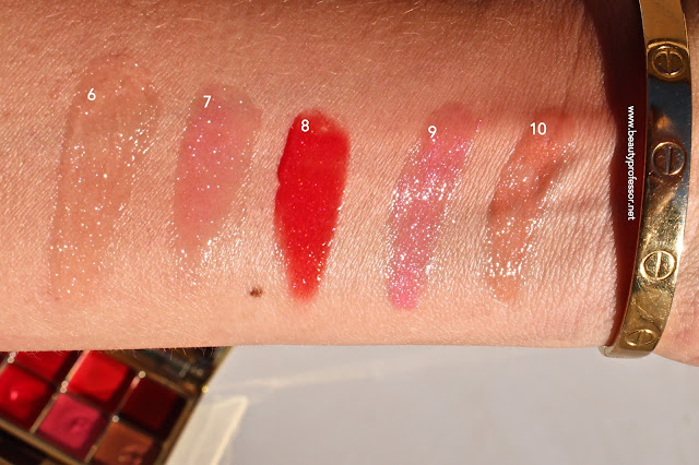 by terry gold jewel lip kiss swatches