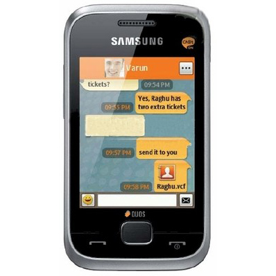 Samsung C3312 Aka Champ Deluxe Duos Dual Sim Full Specification