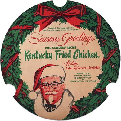 History's Dumpster: The Colonel Sanders Christmas Albums