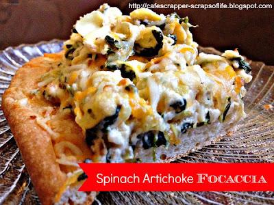 Spinach Artichoke Focaccia