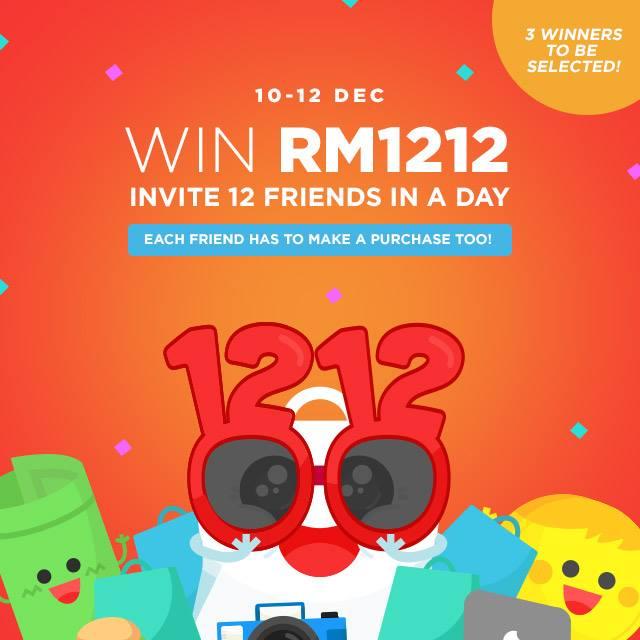 Win RM1212!