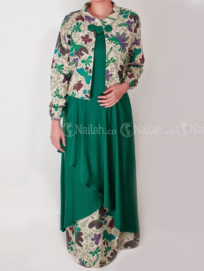 Baju Muslim Terbaru 2014 Baju Batik Modern