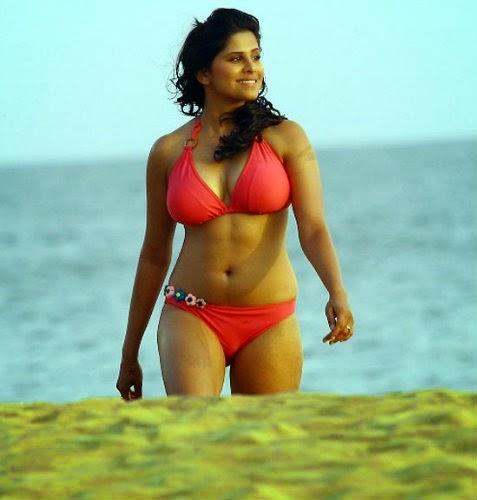 Sai Tamhankar Bikini Hot Stills In Hunterrr Movie