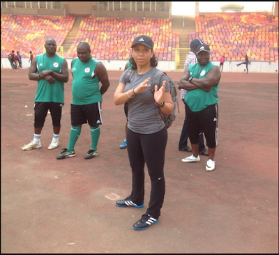 Super Falcons Of Nigeria Get New Sports Psychologist…See Photos