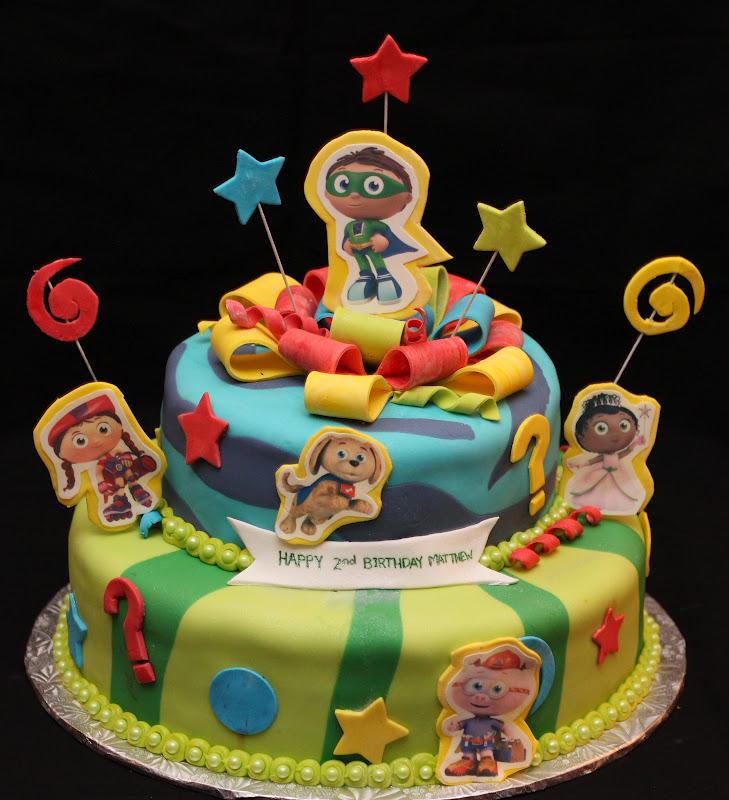 Love Dem Goodies Super Why Cake