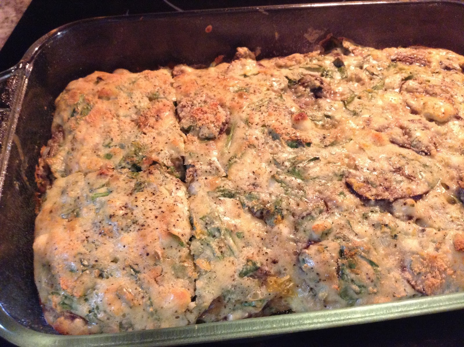 ... Life: Meatless Monday - Spinach, Mushroom & Feta Cheese Casserole