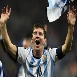 Messi dan Kostum Argentina