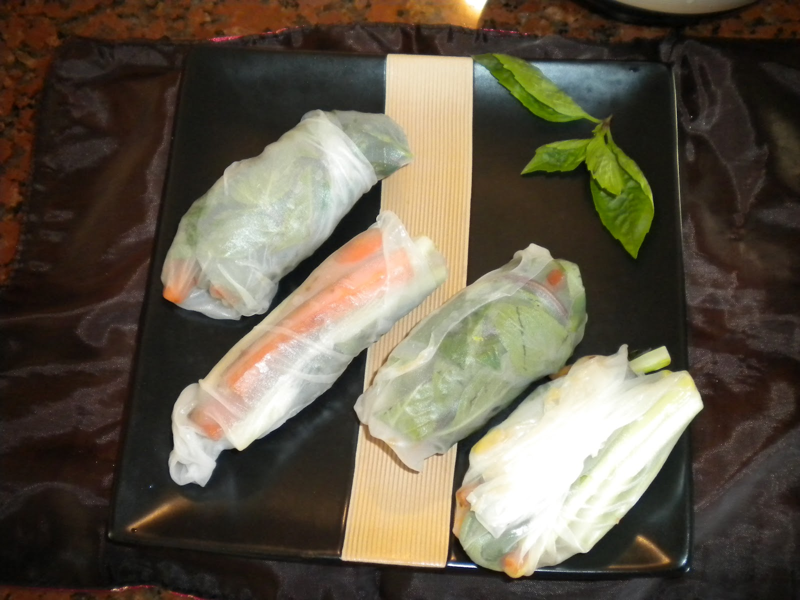 Fit, Food, & Fun in the Sun: Ginger Soy Glazed Carrot Spring Rolls