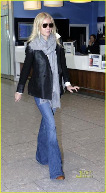 Stylish Women Bell Bottom Jeans