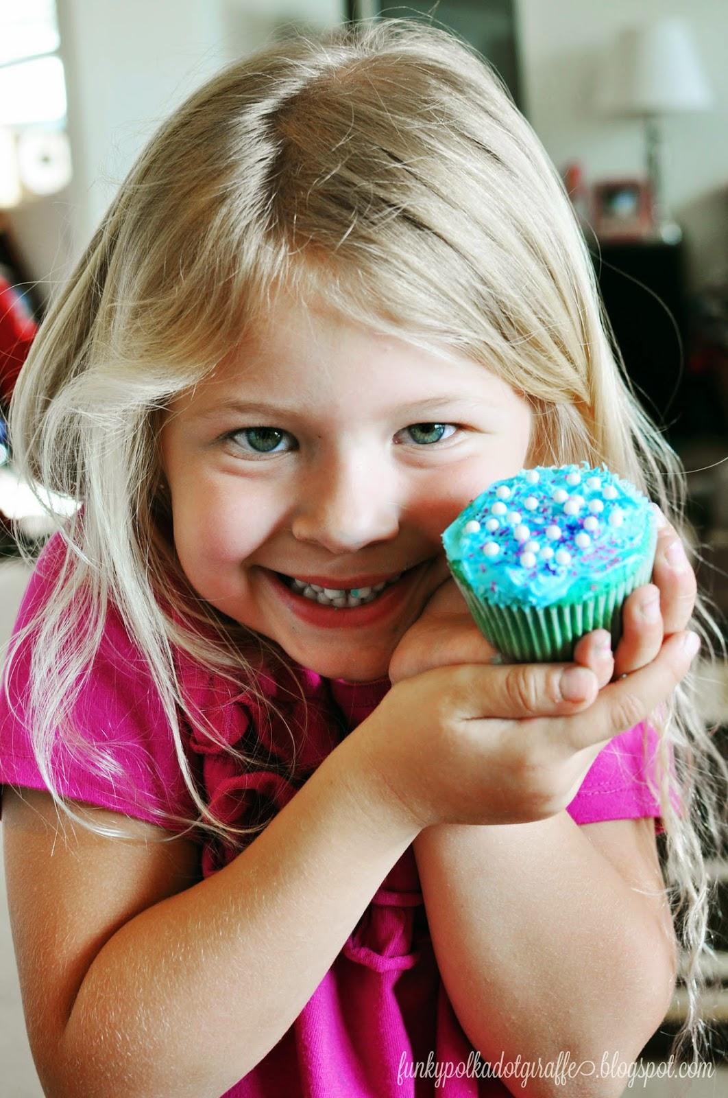 #FROZENFun cupcakes