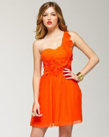 photo-graphimata: Orange Summer Dress