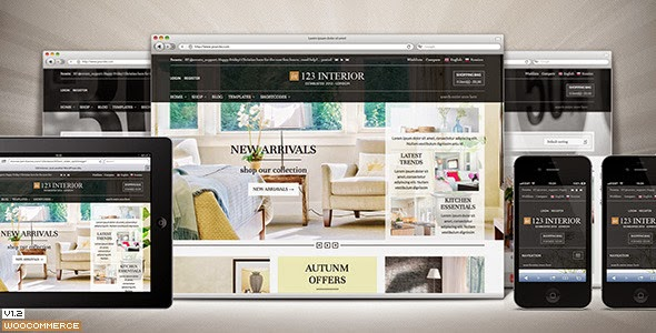 123Interior - Themeforest eCommerce Wordpress Theme