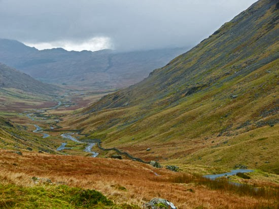 Drive from Ambleside to Hardknott, good drives in England