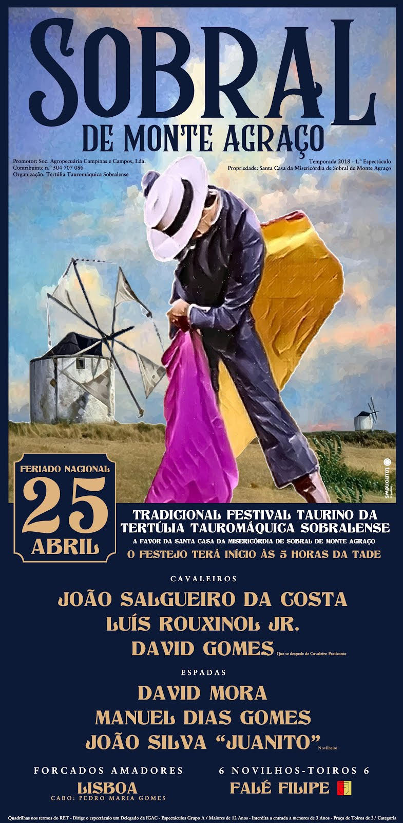 Sobral de Monte Agraço - 25 de Abril