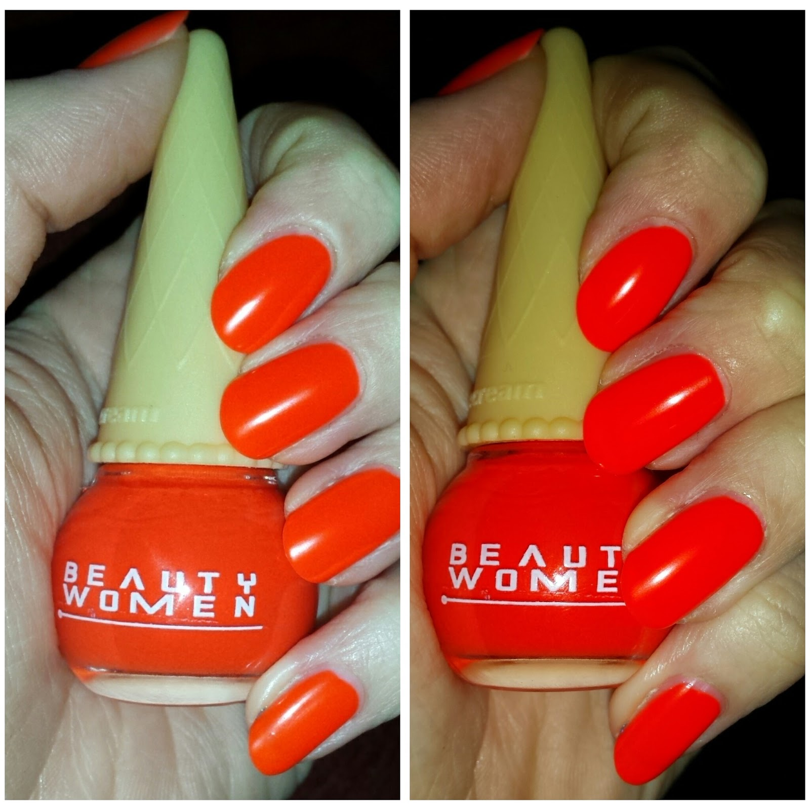 Beauty Gothic Beauty Women NEONORANGE Nagellack