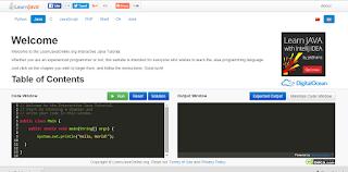 Belajar Java di LearnJavaOnline