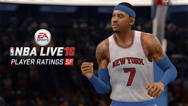 NBA Live 16 Top 5 Small Forwards (ratings)