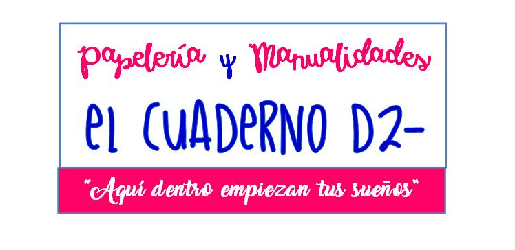 EL CUADERNO D2- Papelería Bonares