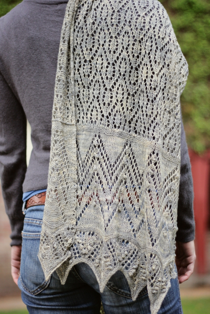 Downton Abbey Knitting Patterns : Downton Abbey Shawl