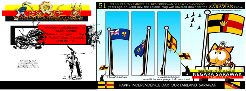 Facebook Cover Sarawak Independence Day