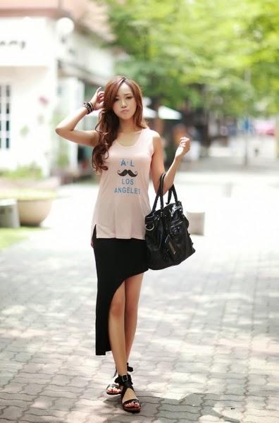 Chân dài Hàn Quốc gợi cảm quyến rũ