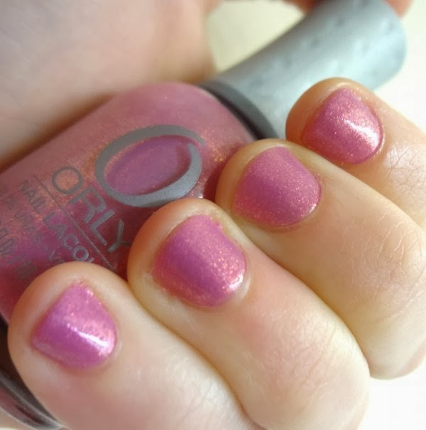 ORLY Preamp is a gorgeous pink-purple with golden shimmer!