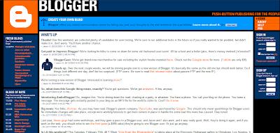 Blogger 2003