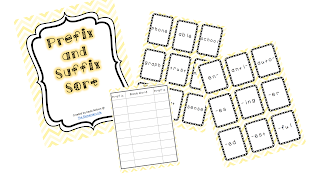 http://www.teacherspayteachers.com/Product/Suffix-and-Prefix-Sort-1010598