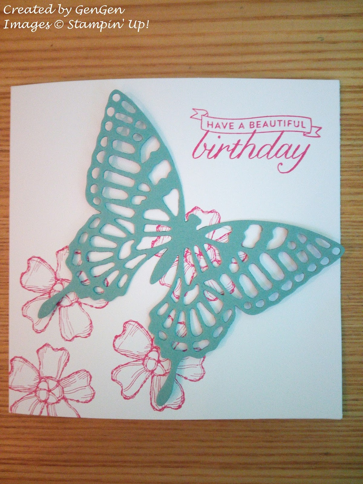 Stamp Addict Birthday Blossoms Stamp For More Than Birthdays