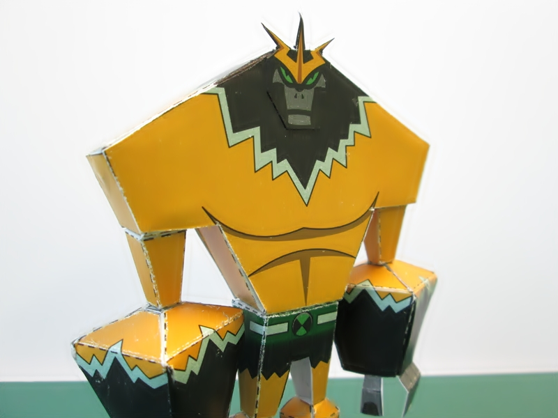 Shocksquatch Papercraft