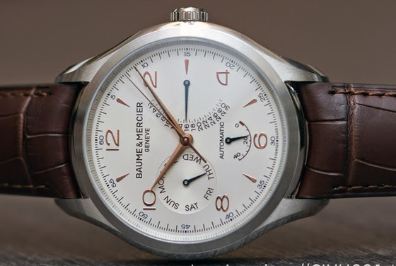 Baume & Mercier Clifton Automatic Data Retrograda