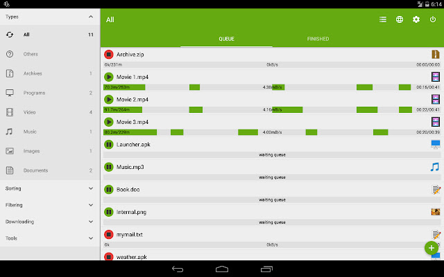 Download Advanced Download Manager Pro 5.0.7 Paid Cracked Apk For Android