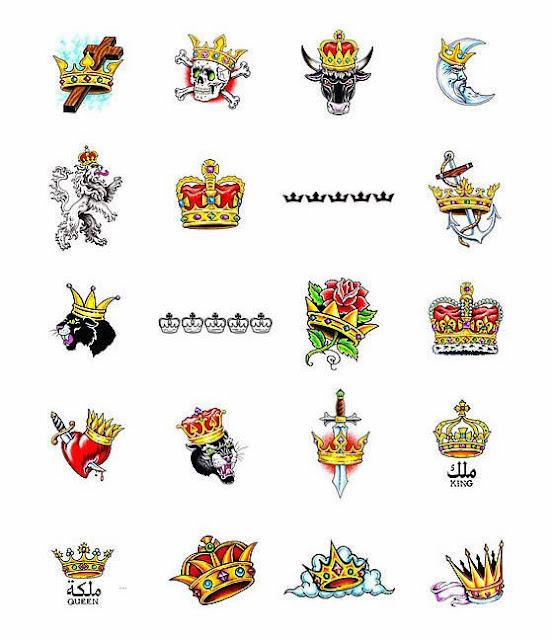 Crown Tattoos Design