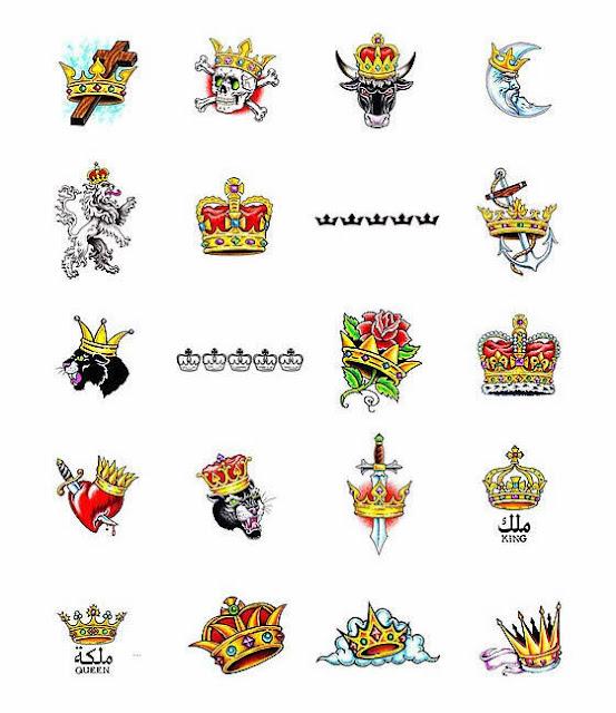 Crown Tattoos Design