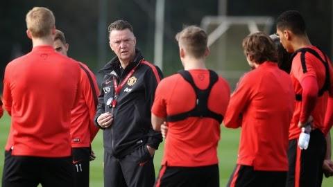 LVG dan pemain United