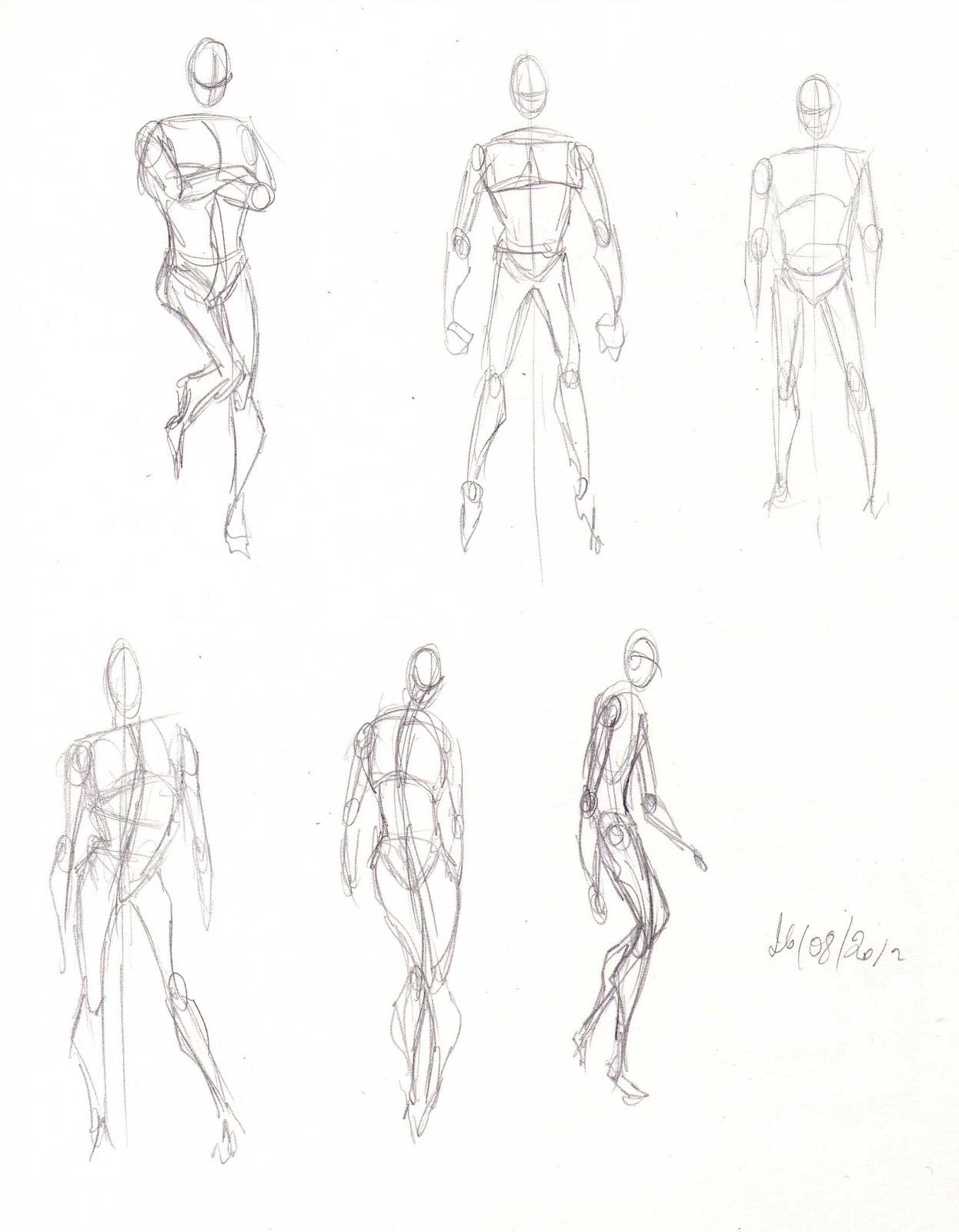 Dessin Corps Homme blog de claire matz: croquis - le corps dynamique