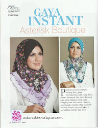 HIGHLIGHT IN PAGE 52 & 53, WANITA SEPT 2012