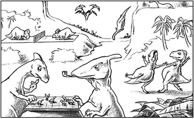 08/2013 | Dinosaurios (El Cuaderno de Godzillin)