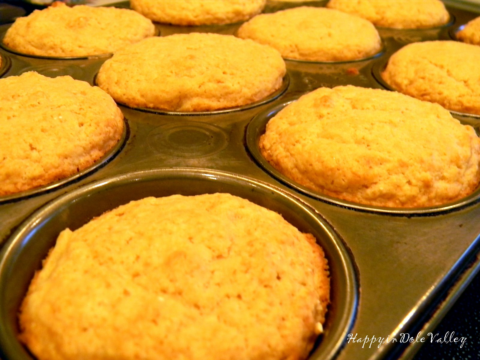 Happy in Dole Valley: Muffin Monday - Whole Wheat ...