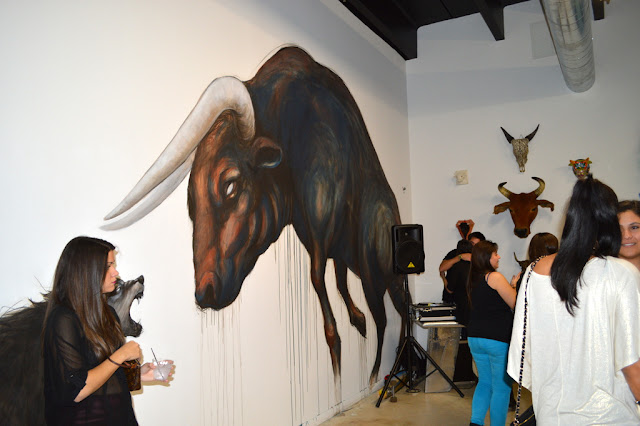 del toro event during art basel