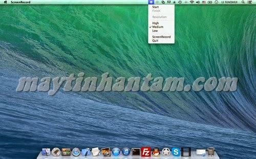 Đăng ký bản quyền ScreenRecord for Mac, quay video màn hình chất lượng cao